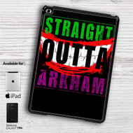 "Straight Outta Arkham Batman Joker iPad 2 3 4 iPad Mini 1 2 3 4 iPad Air 1 2 | Samsung Galaxy Tab 10.1"" Tab 2 7"" Tab 3 7"" Tab 3 8"" Tab 4 7"" Case"