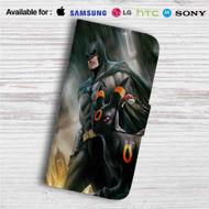 Batman and Umbreon Pokemon Custom Leather Wallet iPhone 4/4S 5S/C 6/6S Plus 7| Samsung Galaxy S4 S5 S6 S7 Note 3 4 5| LG G2 G3 G4| Motorola Moto X X2 Nexus 6| Sony Z3 Z4 Mini| HTC ONE X M7 M8 M9 Case
