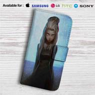 Dark Elsa Frozen Disney Custom Leather Wallet iPhone 4/4S 5S/C 6/6S Plus 7| Samsung Galaxy S4 S5 S6 S7 Note 3 4 5| LG G2 G3 G4| Motorola Moto X X2 Nexus 6| Sony Z3 Z4 Mini| HTC ONE X M7 M8 M9 Case