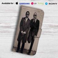 Jay Z, Future & DJ Khaled Custom Leather Wallet iPhone 4/4S 5S/C 6/6S Plus 7| Samsung Galaxy S4 S5 S6 S7 Note 3 4 5| LG G2 G3 G4| Motorola Moto X X2 Nexus 6| Sony Z3 Z4 Mini| HTC ONE X M7 M8 M9 Case