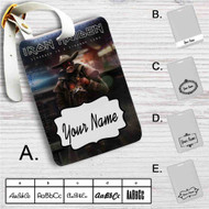 Iron Maiden Stranger in Strange Land Custom Leather Luggage Tag