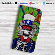 Make America Grateful Dead Custom Leather Wallet iPhone 4/4S 5S/C 6/6S Plus 7| Samsung Galaxy S4 S5 S6 S7 Note 3 4 5| LG G2 G3 G4| Motorola Moto X X2 Nexus 6| Sony Z3 Z4 Mini| HTC ONE X M7 M8 M9 Case