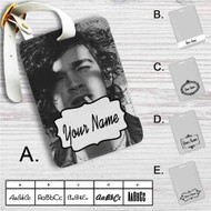 Matty Healy The 1975 Custom Leather Luggage Tag