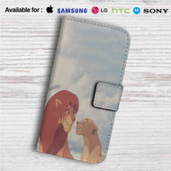 Simba and Nala Disney The Lion King Custom Leather Wallet iPhone 4/4S 5S/C 6/6S Plus 7| Samsung Galaxy S4 S5 S6 S7 Note 3 4 5| LG G2 G3 G4| Motorola Moto X X2 Nexus 6| Sony Z3 Z4 Mini| HTC ONE X M7 M8 M9 Case
