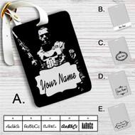 Punisher War Zone Custom Leather Luggage Tag