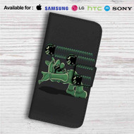 Super Mario Matrix Custom Leather Wallet iPhone 4/4S 5S/C 6/6S Plus 7| Samsung Galaxy S4 S5 S6 S7 Note 3 4 5| LG G2 G3 G4| Motorola Moto X X2 Nexus 6| Sony Z3 Z4 Mini| HTC ONE X M7 M8 M9 Case