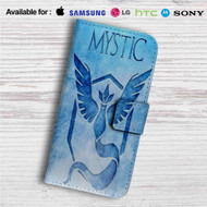 Team Mystic Pokemon Custom Leather Wallet iPhone 4/4S 5S/C 6/6S Plus 7| Samsung Galaxy S4 S5 S6 S7 Note 3 4 5| LG G2 G3 G4| Motorola Moto X X2 Nexus 6| Sony Z3 Z4 Mini| HTC ONE X M7 M8 M9 Case