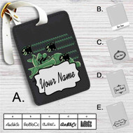Super Mario Matrix Custom Leather Luggage Tag