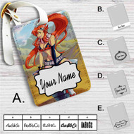 Yoko Gurren Lagann Custom Leather Luggage Tag