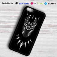 Black Panther Marvel Superheroes iPhone 4/4S 5 S/C/SE 6/6S Plus 7| Samsung Galaxy S4 S5 S6 S7 NOTE 3 4 5| LG G2 G3 G4| MOTOROLA MOTO X X2 NEXUS 6| SONY Z3 Z4 MINI| HTC ONE X M7 M8 M9 M8 MINI CASE