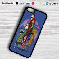 Bob's Burgers as Guardians of the Galaxy iPhone 4/4S 5 S/C/SE 6/6S Plus 7| Samsung Galaxy S4 S5 S6 S7 NOTE 3 4 5| LG G2 G3 G4| MOTOROLA MOTO X X2 NEXUS 6| SONY Z3 Z4 MINI| HTC ONE X M7 M8 M9 M8 MINI CASE