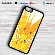 Pikachu Pokemon Angry iPhone 4/4S 5 S/C/SE 6/6S Plus 7| Samsung Galaxy S4 S5 S6 S7 NOTE 3 4 5| LG G2 G3 G4| MOTOROLA MOTO X X2 NEXUS 6| SONY Z3 Z4 MINI| HTC ONE X M7 M8 M9 M8 MINI CASE