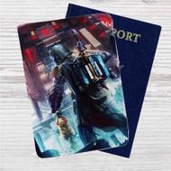 Boba Fett got Pikachu Custom Leather Passport Wallet Case Cover