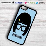 Tina Belcher Uhh Bobs Burgers iPhone 4/4S 5 S/C/SE 6/6S Plus 7| Samsung Galaxy S4 S5 S6 S7 NOTE 3 4 5| LG G2 G3 G4| MOTOROLA MOTO X X2 NEXUS 6| SONY Z3 Z4 MINI| HTC ONE X M7 M8 M9 M8 MINI CASE