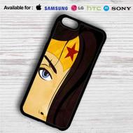 Wonder Woman Face iPhone 4/4S 5 S/C/SE 6/6S Plus 7  Samsung Galaxy S4 S5 S6 S7 NOTE 3 4 5  LG G2 G3 G4  MOTOROLA MOTO X X2 NEXUS 6  SONY Z3 Z4 MINI  HTC ONE X M7 M8 M9 M8 MINI CASE