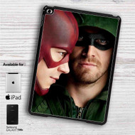 "Arrow and The Flash iPad 2 3 4 iPad Mini 1 2 3 4 iPad Air 1 2 | Samsung Galaxy Tab 10.1"" Tab 2 7"" Tab 3 7"" Tab 3 8"" Tab 4 7"" Case"