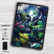 "Batman and Teenage Mutant Ninja Turtles iPad 2 3 4 iPad Mini 1 2 3 4 iPad Air 1 2 | Samsung Galaxy Tab 10.1"" Tab 2 7"" Tab 3 7"" Tab 3 8"" Tab 4 7"" Case"