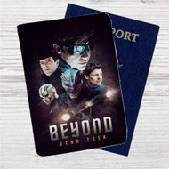 Star Trek Beyond Custom Leather Passport Wallet Case Cover