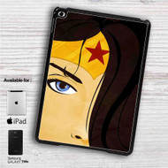"Wonder Woman Face iPad 2 3 4 iPad Mini 1 2 3 4 iPad Air 1 2 | Samsung Galaxy Tab 10.1"" Tab 2 7"" Tab 3 7"" Tab 3 8"" Tab 4 7"" Case"
