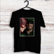 Arrow and The Flash Custom T Shirt Tank Top Men and Woman