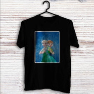 Elsa and Anna Frozen Forever Custom T Shirt Tank Top Men and Woman