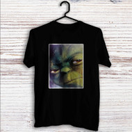 Master Yoda Face Star Wars Custom T Shirt Tank Top Men and Woman