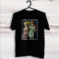 Poison Ivy Harley Quinn Custom T Shirt Tank Top Men and Woman