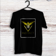 Team Instinct Pokemon Custom T Shirt Tank Top Men and Woman