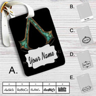 Black Flag Assassin's Creed Custom Leather Luggage Tag