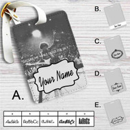 Jimi Hendrix Excuse Me Custom Leather Luggage Tag