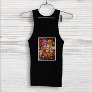 Five Nights at Freddy's and Scooby Doo Custom Men Woman Tank Top T Shirt Shirt