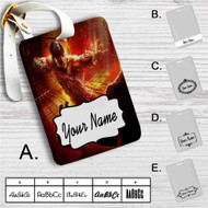 Liu Kang Mortal Kombat X Custom Leather Luggage Tag