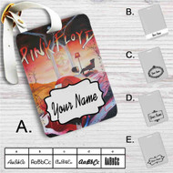 Pink Floyd The Wall Custom Leather Luggage Tag