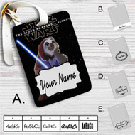 Star Wars Meets Zootopia Custom Leather Luggage Tag