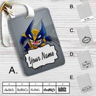 Stitch as Wolverine Custom Leather Luggage Tag