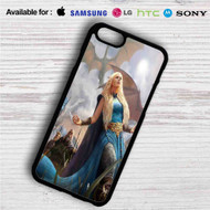 Daenerys Targaryen Game of Thrones iPhone 4/4S 5 S/C/SE 6/6S Plus 7  Samsung Galaxy S4 S5 S6 S7 NOTE 3 4 5  LG G2 G3 G4  MOTOROLA MOTO X X2 NEXUS 6  SONY Z3 Z4 MINI  HTC ONE X M7 M8 M9 M8 MINI CASE
