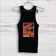 Scorpion Mortal Kombat X Custom Men Woman Tank Top T Shirt Shirt