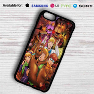 Five Nights at Freddy's and Scooby Doo iPhone 4/4S 5 S/C/SE 6/6S Plus 7| Samsung Galaxy S4 S5 S6 S7 NOTE 3 4 5| LG G2 G3 G4| MOTOROLA MOTO X X2 NEXUS 6| SONY Z3 Z4 MINI| HTC ONE X M7 M8 M9 M8 MINI CASE