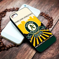 Oakland Athletics 3 on your case iphone 4 4s 5 5s 5c 6 6plus 7 case / cases