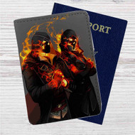 Assassins Creed Syndicate The Frye Twins Custom Leather Passport Wallet Case Cover