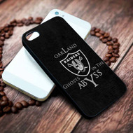 Oakland Raiders 2 on your case iphone 4 4s 5 5s 5c 6 6plus 7 case / cases