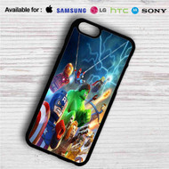 Marvel Superheroes Lego iPhone 4/4S 5 S/C/SE 6/6S Plus 7| Samsung Galaxy S4 S5 S6 S7 NOTE 3 4 5| LG G2 G3 G4| MOTOROLA MOTO X X2 NEXUS 6| SONY Z3 Z4 MINI| HTC ONE X M7 M8 M9 M8 MINI CASE