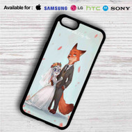 Nick and Judy Maried Zootopia iPhone 4/4S 5 S/C/SE 6/6S Plus 7| Samsung Galaxy S4 S5 S6 S7 NOTE 3 4 5| LG G2 G3 G4| MOTOROLA MOTO X X2 NEXUS 6| SONY Z3 Z4 MINI| HTC ONE X M7 M8 M9 M8 MINI CASE
