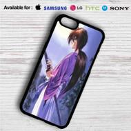 Samurai X Rurouni Kenshin iPhone 4/4S 5 S/C/SE 6/6S Plus 7| Samsung Galaxy S4 S5 S6 S7 NOTE 3 4 5| LG G2 G3 G4| MOTOROLA MOTO X X2 NEXUS 6| SONY Z3 Z4 MINI| HTC ONE X M7 M8 M9 M8 MINI CASE