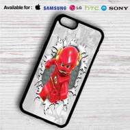 The Flash Lego iPhone 4/4S 5 S/C/SE 6/6S Plus 7  Samsung Galaxy S4 S5 S6 S7 NOTE 3 4 5  LG G2 G3 G4  MOTOROLA MOTO X X2 NEXUS 6  SONY Z3 Z4 MINI  HTC ONE X M7 M8 M9 M8 MINI CASE