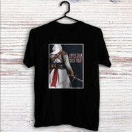 Assassin's Creed Altair Quotes Custom T Shirt Tank Top Men and Woman