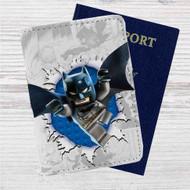Batman DC Comics Lego Custom Leather Passport Wallet Case Cover