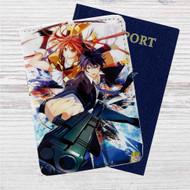 Black Bullet Custom Leather Passport Wallet Case Cover