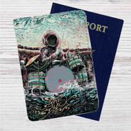 Black Keys Miles Tsang Canada Custom Leather Passport Wallet Case Cover