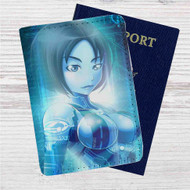 Halo 4 Cortana Custom Leather Passport Wallet Case Cover